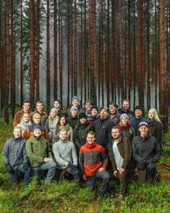 UPM Metsä - Ryhmäkuva
