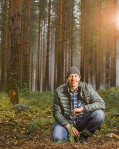 UPM Metsä - Taimen istuttaja